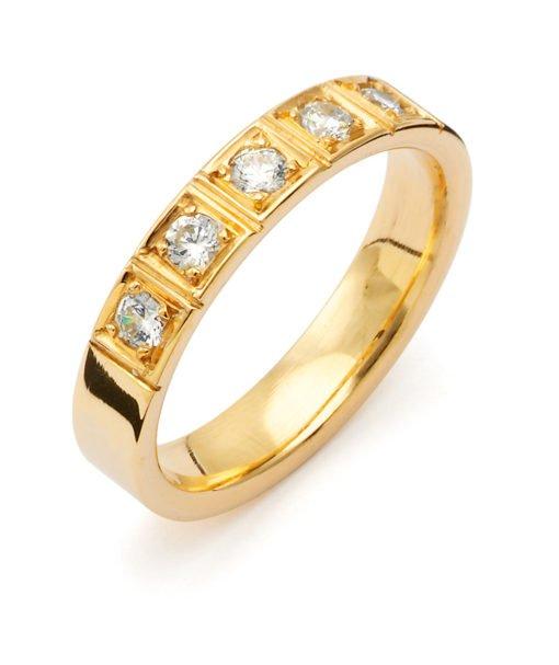 cubic_zirconia_sigmo_blank_damering_vielsesring_forlovelsesring_tilux_sten_brilliant_diamant_guld_14_18_karat_B049