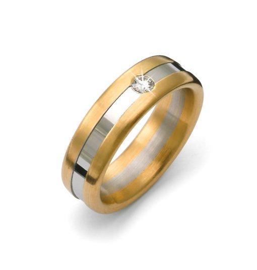 platin_selective_børstet_boerstet_blank_mat_damering_vielsesring_forlovelsesringe_tilux_sten_brilliant_diamant_guld_18_karat_b4994